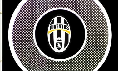 Official FC Juventus Crest Flag (5ft x 3ft)