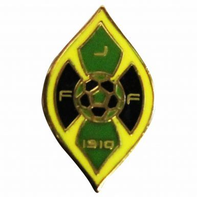 Jamaica JFF Football Crest Pin Badge