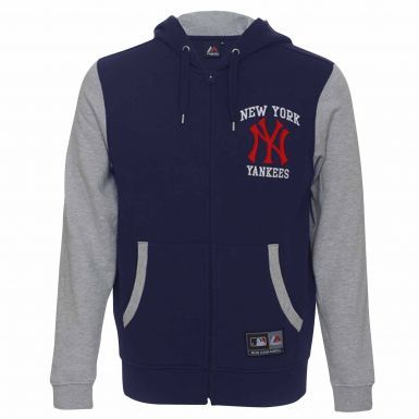Official New York Yankees Crest Zipped Hoodie