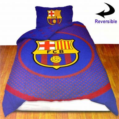 FC Barcelona Single Duvet Cover Set