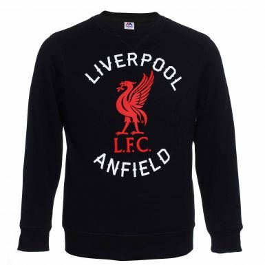 Official Liverpool FC Crest Sweatshirt