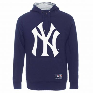 Official New York Yankees Crest Hoodie by Majestic