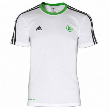 VfL Wolfsburg Football T-Shirt by Adidas