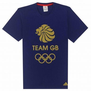Team GB Olympics T-Shirt by Adidas