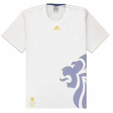 Official Team GB Olympics T-Shirt by Adidas