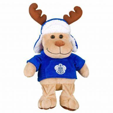 Large Queens Park Rangers Christmas Reindeer