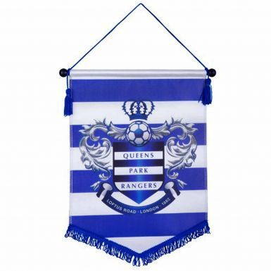 Queens Park Rangers Crest Football Pennant