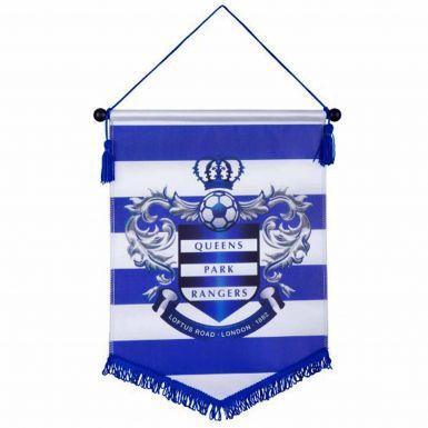 Queens Park Rangers Crest Football Pennant