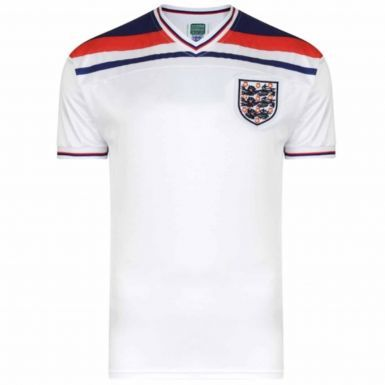 England 1982 Classic Retro Shirt by Scoredraw