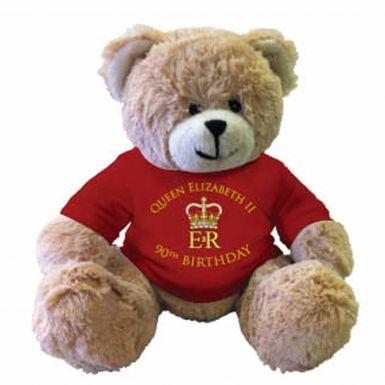 Queen Elizabeth II 90th Birthday Teddy Bear