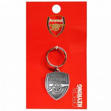 Arsenal FC Antique Effect Crest Keyring