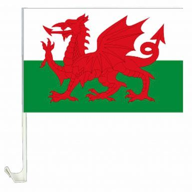 Wales Car Flag for Cars or Vans