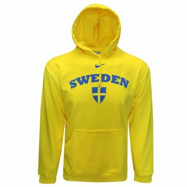 Sweden Flag Leisure Hoodie by Nike