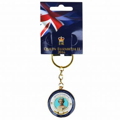 Queen Elizabeth II 90th Birthday Keyring