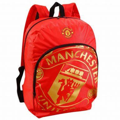 Manchester United Crest Rucksack
