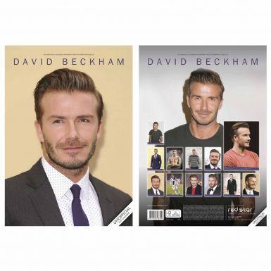 David Beckham 2017 Soccer Calendar