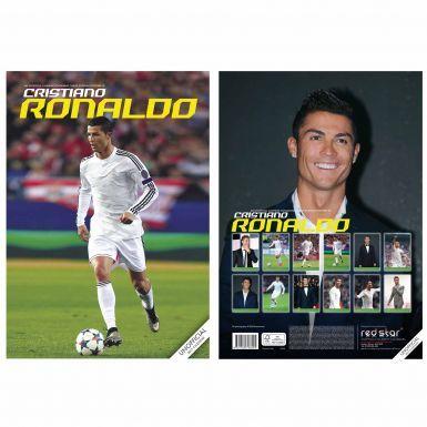 Cristiano Ronaldo  & Real Madrid 2017 Calendar