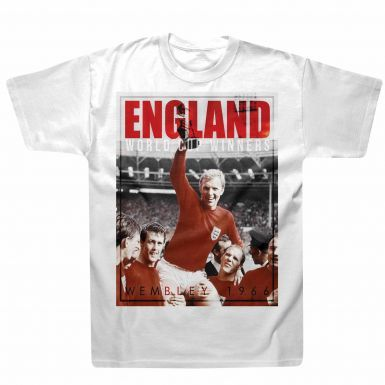 England 1966 WC Winners Retro T-Shirt