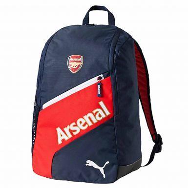 Arsenal FC Football Crest Rucksack by Puma