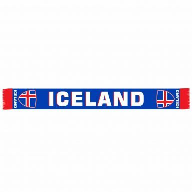 Iceland Football Fans Scarf