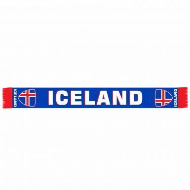 Iceland Football Fans Scarf