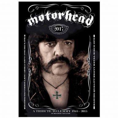 Motorhead & Lemmy Rock Legend 2017 Calendar