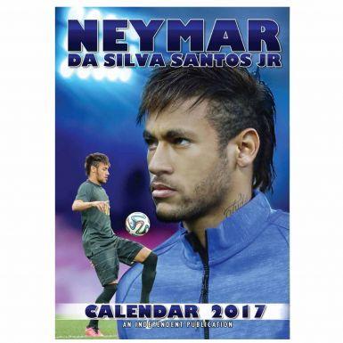 NEYMAR Jnr & Brazil 2017 Football Calendar