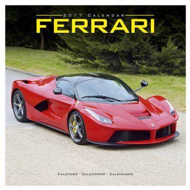 Official Ferrari 2017 Calendar