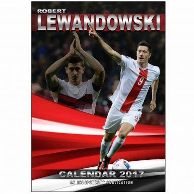 Robert Lewandowski & Bayern Munich 2017 Calendar