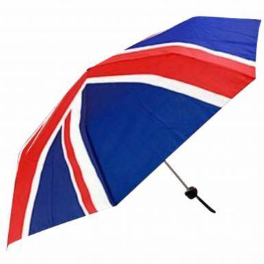 Union Jack Flag Compact Umbrella
