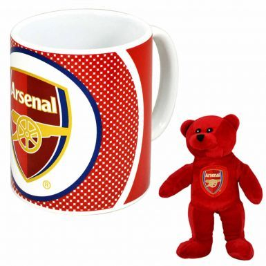 Arsenal FC Mug & Beanie Bear Set