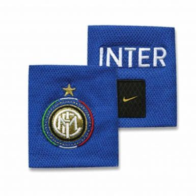 Inter Milan Football Crest Wristbands by Nike