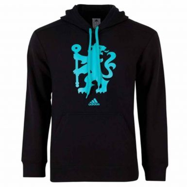 Official Chelsea FC Crest Hoodie bY Adidas