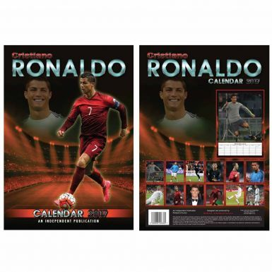 Real Madrid & Cristiano Ronaldo 2017 Soccer Calendar