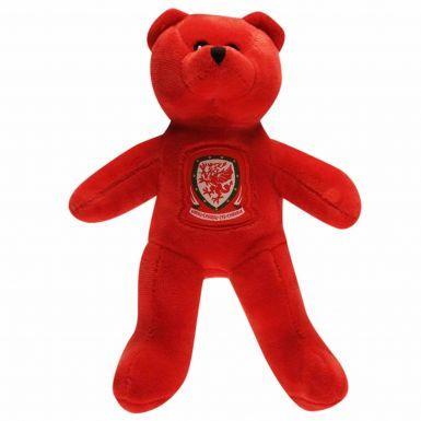 Wales Football Souvenir Beanie Bear