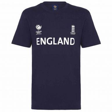 England Cricket ICC 2017 Champions Trophy T-Shirt