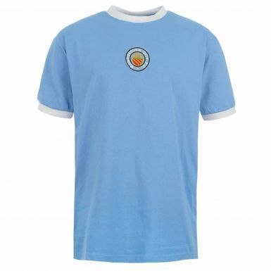 Classic Manchester City 1970's Retro Shirt