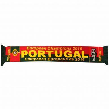 Portugal 2016 European Champions Scarf