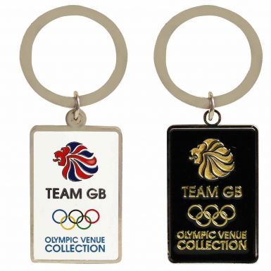 Official Team GB Logo Olympic Keyring Set