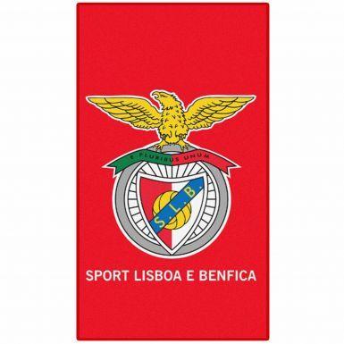 Official SL Benfica Football Crest Beach Towel