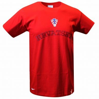 Croatia (Hrvatska) Football Crest T-Shirt by Nike
