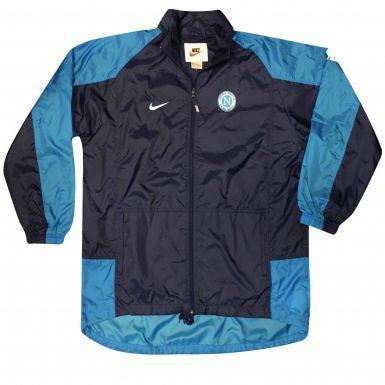 SSC Napoli Football Rain Windbreaker Jacket by Nike