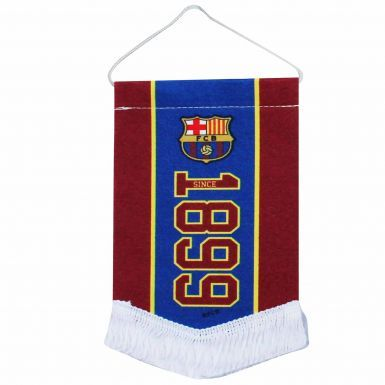 FC Barcelona Mini Pennant for Cars