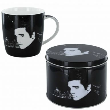 Elvis Presley Portrait Mug & Tin Gift Set