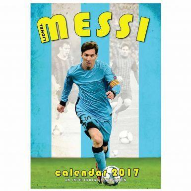 Lionel Messi  & FC Barcelona 2017 Calendar