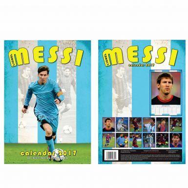 New Lionel Messi  & FC Barcelona 2017 Soccer Calendar