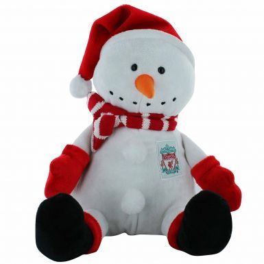 Liverpool FC Plush Christmas Snowman