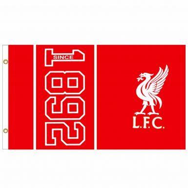 Liverpool FC 1892 Crest Flag
