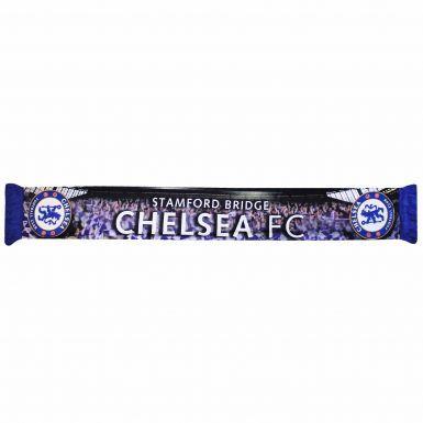 Chelsea FC Crest Stadium Scarf