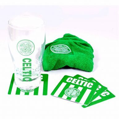 Celtic FC Pint Glass Mini Bar Set With Coasters